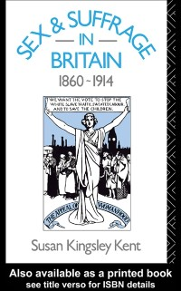 Cover Sex and Suffrage in Britain 1860-1914