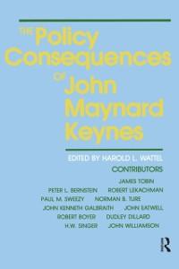 Cover Policy Consequences of John Maynard Keynes