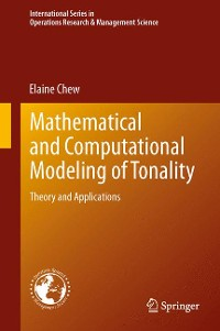 Cover Mathematical and Computational Modeling of Tonality
