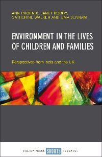Cover Environment in the lives of children and families