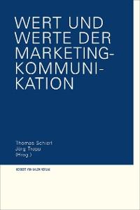 Cover Wert und Werte der Marketing-Kommunikation