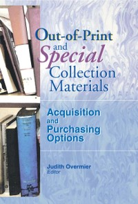 Cover Out-of-Print and Special Collection Materials