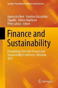 Cover Finance and Sustainability