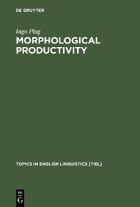Cover Morphological Productivity