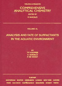 Cover Analysis and Fate of Surfactants in the Aquatic Environment