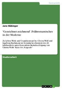 """Cover """"Gezeichnet zeichnend"""". Frühromantisches in der Moderne"""