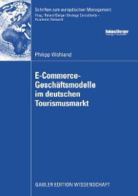 Cover E-Commerce-Geschäftsmodelle im deutschen Tourismusmarkt