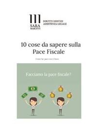 Cover 10 Cose da sapere sulla Pace Fiscale