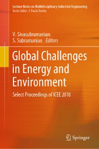 Cover Global Challenges in Energy and Environment