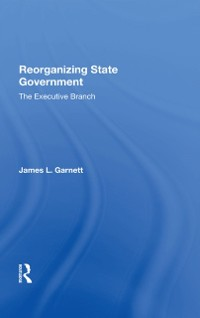 Cover Reorganizing State Government