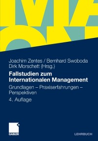 Cover Fallstudien zum Internationalen Management
