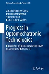 Cover Progress in Optomechatronic Technologies
