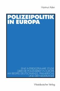 Cover Polizeipolitik in Europa