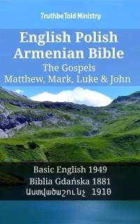 Cover English Polish Armenian Bible - The Gospels - Matthew, Mark, Luke & John