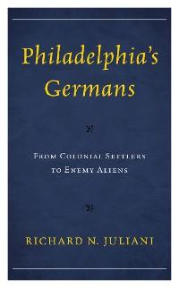 Cover Philadelphia's Germans