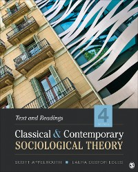 Cover Classical and Contemporary Sociological Theory