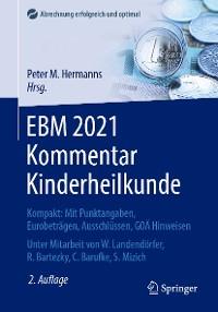 Cover EBM 2021 Kommentar Kinderheilkunde