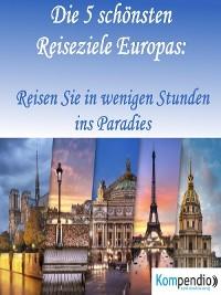 Cover Die 5 schönsten Reiseziele Europas: