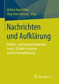 Cover Nachrichten und Aufklärung