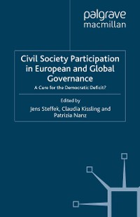 Cover Civil Society Participation in European and Global Governance