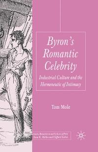 Cover Byron's Romantic Celebrity