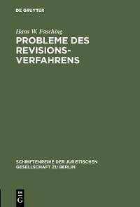 Cover Probleme des Revisionsverfahrens