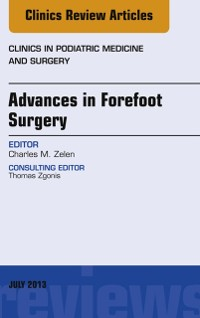 Cover Advances in Forefoot Surgery, An Issue of Clinics in Podiatric Medicine and Surgery, E-Book