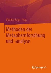 Cover Methoden der Metaphernforschung und -analyse