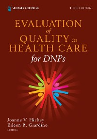 Cover Evaluation of Quality in Health Care for DNPs, Third Edition