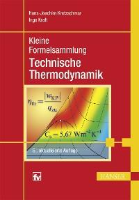 Cover Kleine Formelsammlung Technische Thermodynamik