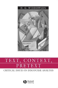 Cover Text, Context, Pretext