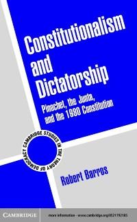 Cover Constitutionalism and Dictatorship