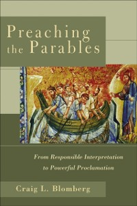 Cover Preaching the Parables