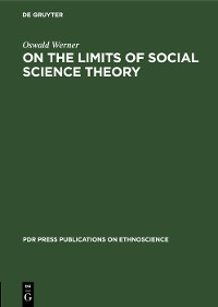 Cover On the Limits of Social Science Theory