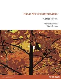 Cover College Algebra: Pearson New International Edition