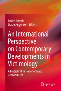 Cover An International Perspective on Contemporary Developments in Victimology