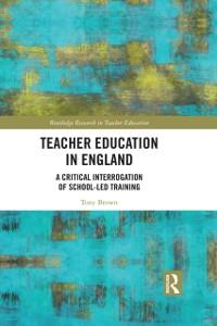 Cover Teacher Education in England