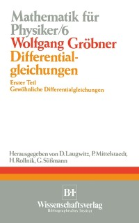 Cover Differentialgleichungen