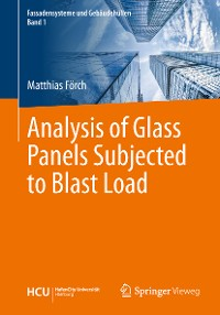 Cover Analysis of Glass Panels Subjected to Blast Load