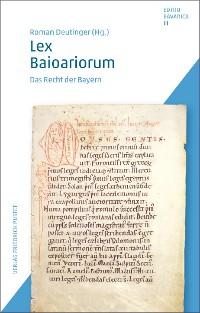 Cover Lex Baioariorum