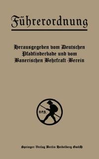 Cover Fuhrerordnung