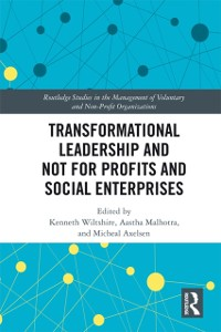 Cover Transformational Leadership and Not for Profits and Social Enterprises