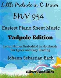 Cover Little Prelude In C Minor Bwv 934 Easiest Piano Sheet Music Tadpole Edition