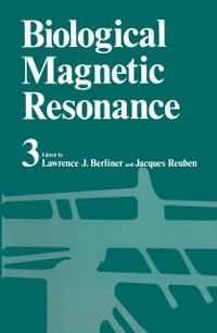 Cover Biological Magnetic Resonance Volume 3