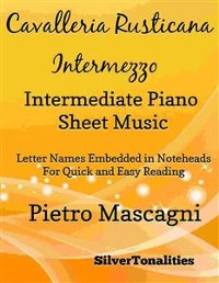 Cover Cavalleria Rusticana Intermediate Piano Sheet Music