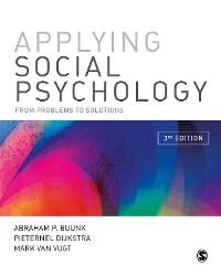Cover Applying Social Psychology