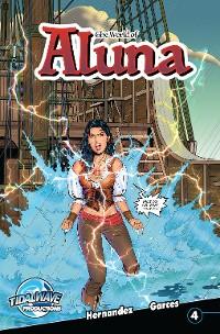 Cover The World of Aluna #4