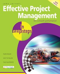 Cover Effective Project Management in easy steps, 2nd edition