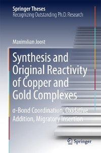 Cover Synthesis and Original Reactivity of Copper and Gold Complexes