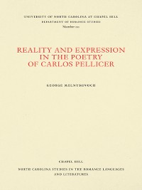 Cover Reality and Expression in the Poetry of Carlos Pellicer